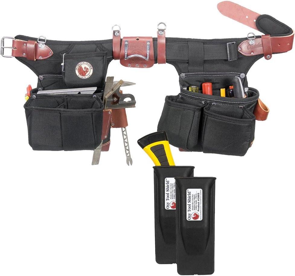 Occidental Leather Large-scale sale 9515 Adjust-to-Fit Import Oxy Framer Light Tool Belt