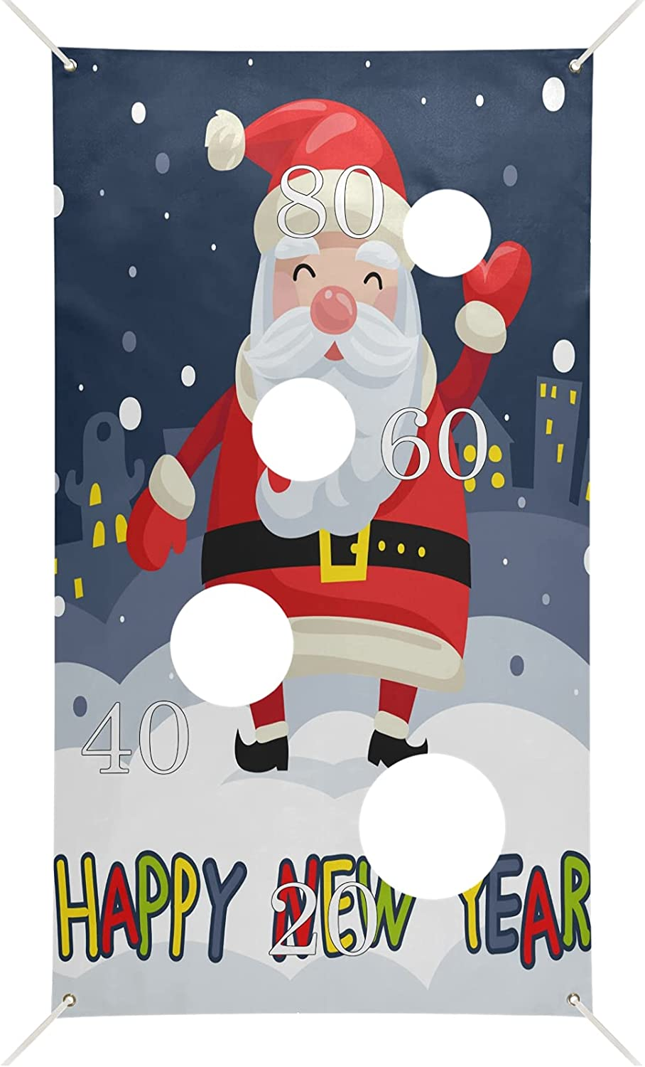 xigua Merry Christmas and Santa Toss 6 Oklahoma City Mall Bean Banner with Ba Max 65% OFF Games