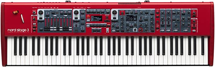 Nord Stage 3 HP 76-Key Digital Piano with Hammer Action Portable Keybed