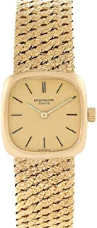 Patek Philippe Vintage Mechanical-Hand-Wind Female Watch 4179 (Certified Pre-Owned)