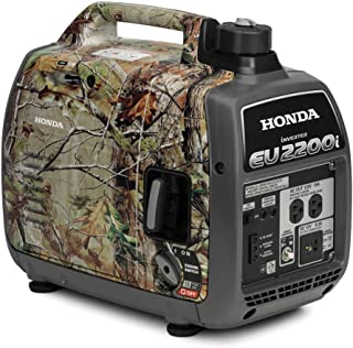 Honda 2200-Watt 120-Volt Super Quiet Portable Inverter Generators (EU2200i Inverter - Camo)