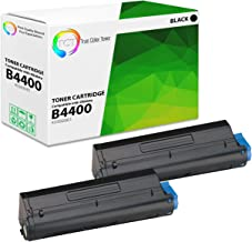 TCT Premium Compatible Toner Cartridge Replacement for Okidata B4400 43502001 Black Works with Oki B4400 Printers (6,000 Pages) - 2 Pack