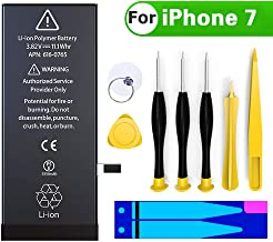 Battery Replacement for iPhone 7, COSOOS 2150mAh High Capacity Battery with Complete Professional Remove Tool Kits and Instruction Compatible with iPhone 7 A1660, A1778, A1779-2 Year Warranty