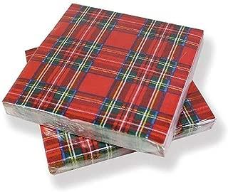 Royal Stewart Paper Napkins - pack of 20