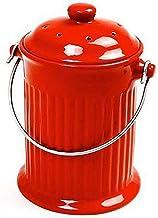 Norpro, Red 93R, 1 Gallon Ceramic Compost Keeper