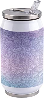 Vacuum Insulated Stainless Steel Water Bottle Mandala...