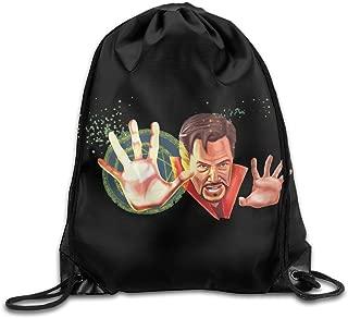 MDSHOP Doctor Strange Superhero Drawstring Backpack Sack Bag