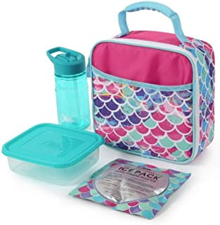 Arctic Zone Lunch Box Combo with Accessories (Mermaid)