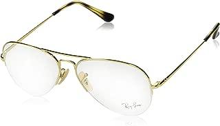 RX6489 Aviator Metal Eyeglass Frames
