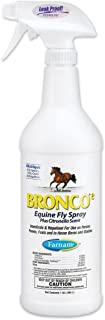 Bronco e Equine Fly Spray (32 oz Trigger Spray - 2 Pack)