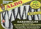 Albo Sardinillas en Aceite de Oliva Virgen Extra - Paquete de 8 Unidades
