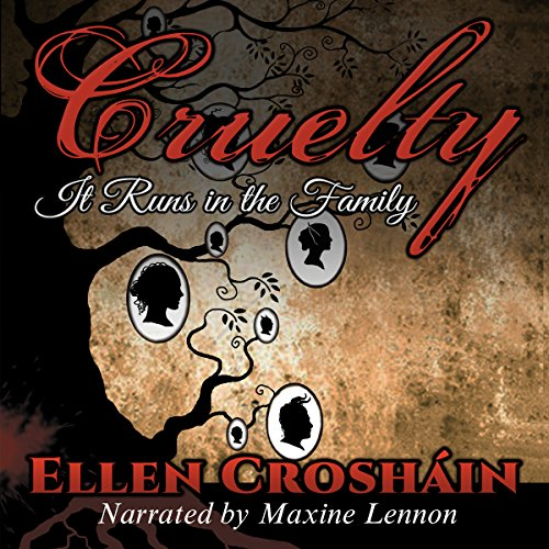 Cruelty audiobook cover art
