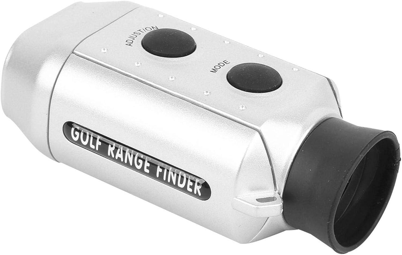 SALALIS Alcance del telémetro, Distancia de medición de 50 a 920 Yardas Telémetro pequeño Fácil de Llevar Portátil para