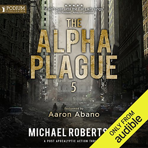 The Alpha Plague 5 audiobook cover art