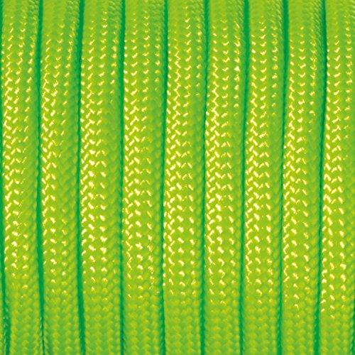 efco Paracord Seil Mischgewebe, Polyester, Hellgrün, 2mm x 4m