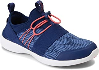 Women's Sky Alaina Slip-on Active Sneaker - Ladies Walking Shoes with Concealed Orthotic Arch Support