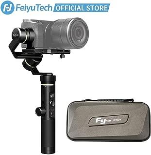 FeiyuTech G6 Plus 3-Axis Handheld Gimbal Stabilizer,Fits Mirrorless Camera, Pocket Camera, GoPro Action Camera, Smartphone,Payload 3.3 lb,Splashproof