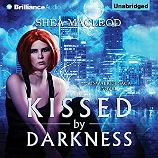 Kissed by Darkness audiobook cover art