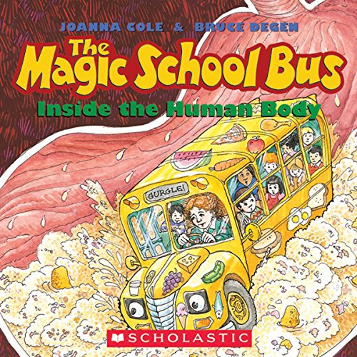 The Magic School Bus Inside the Human Body audiobook cover art