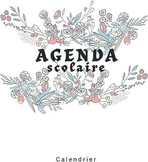 Agenda Scolaire 2019 Calendrier: 2019-2020 French calendrier 2020 / Une page par jour Planificateur Académique