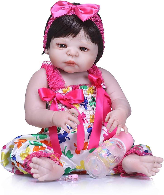 Zero Pam 23 inch 58cm Reborn Dolls Realistic Silicone Magnetic Reality Reborn Girl Toys Soft Silicone Lifelike Full Body Girl Dolls Newborn Baby Dolls