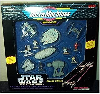 Star Wars Micro Machines Galaxy Battle Collector's Set Second Edition