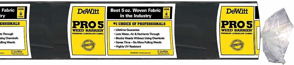 DeWitt P5 Pro 5 Weed Barrier Fabric