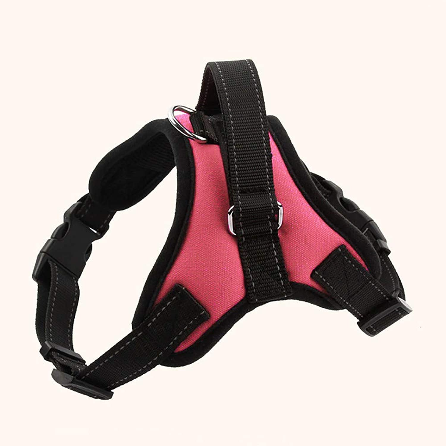 No Pull Dog Vest Harness, Reflective Canvas Dog Leash, Harness Front Clip Puppy Vest, Outdoor Adventure Training, Harnesses Handle