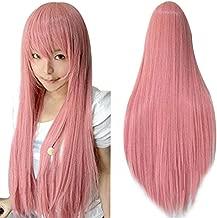 Best long pink cosplay wig Reviews