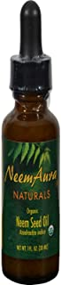 Neem Aura, Oil Neem Seed Organic, 1 Fl Oz