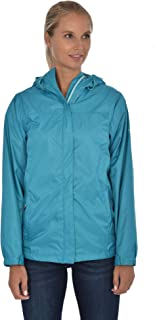 Swiss Alps Womens Wind Resistant Lightweight Rain Jacket