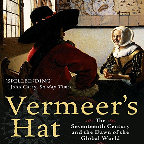 Vermeer's Hat audiobook cover art