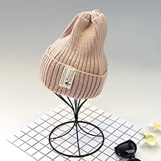 TXOZ Women's Wool Hat, Autumn and Winter Warm Hat, Go Out Travel Windproof Dustproof Washable Hat (Color : Beige)