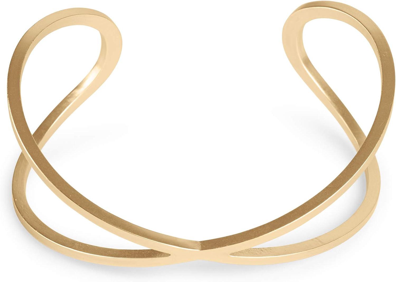 Lucky Brand Wire Cuff Bracelet, Gold
