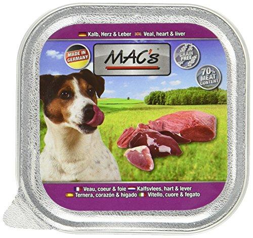 MAC's Kalb, Herz & Leber, 11er Pack (11 x 150 g)