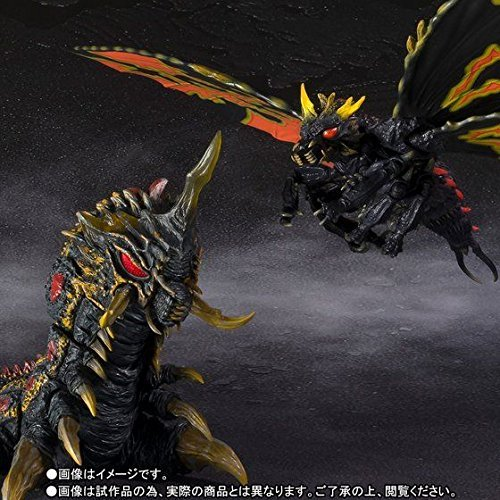 Godzilla vs Mothra - Battra (Adult) & Battra (Larvae) Special Color Ver. Limited Edition [SH MonsterArts][Japanische Importspiele]