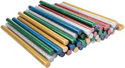 Universele lijmpatronen | lijmpistolen voor grote lijmpistolen | hete lijm sticks | Ø 11 mm | 20 cm lang | 50 stuks (5 kle...