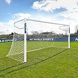 FORZA Alu110 But de Football à Sceller – Poteaux en Aluminium (Large Gamme de Tailles) (4m x 2m)