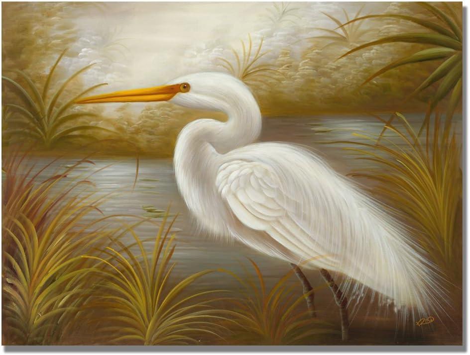 Heron Portrait I Canvas Art Print