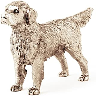 Golden Retriever Made in UK Artistic Style Dog Figurine Collection