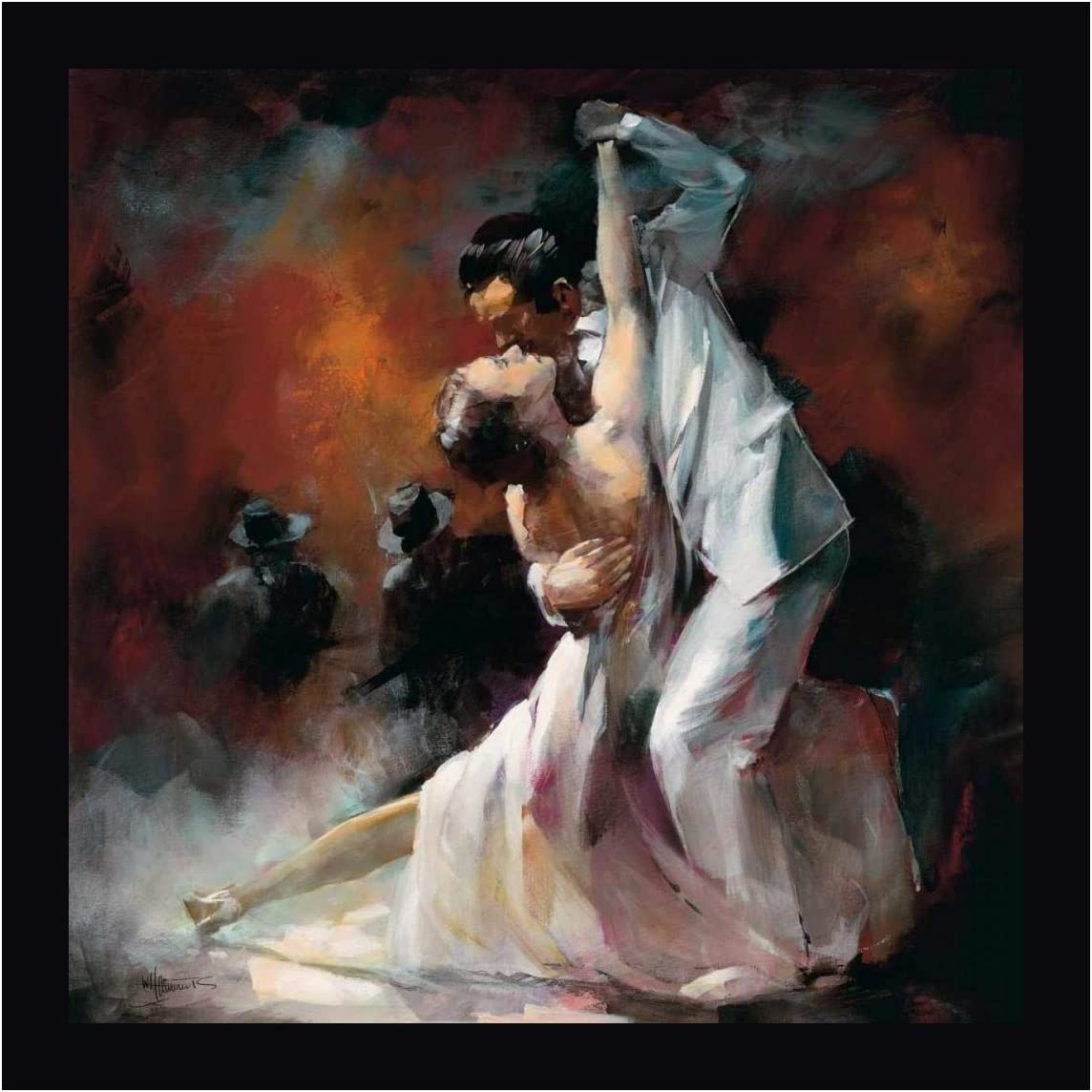 Tango Argentino I By Willem Haenraets 24 X 24 Canvas Art Print Gallery Wrapped Ready To Hang Posters Prints