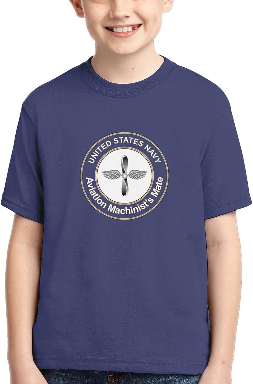 Us Navy Machinist's Mate Boys 3D Kids Tshirt Tops Soft Casual