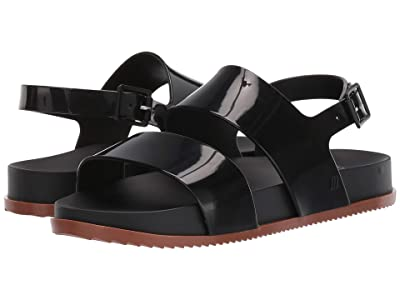 Mini Melissa Mel Cosmic Sandal (Little Kid) (Black/Brown) Girls Shoes