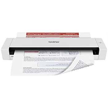 Brother DS-720D Mobile Color Page Scanner, White