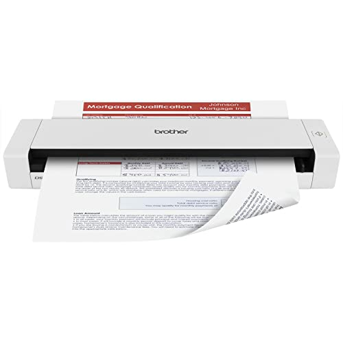 Brother DS-720D Mobile Color Page Scanner, White (DS720D)