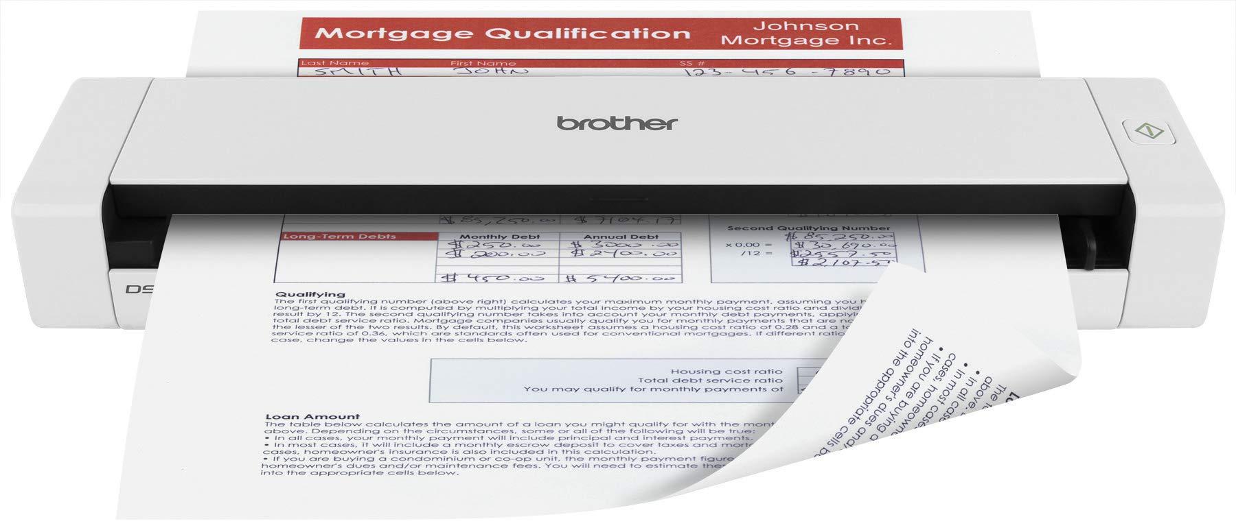 Brother Scanner DS 720D Scanning Lightweight