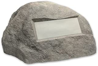 Outdoor Essentials Faux Address Rock, Grey
