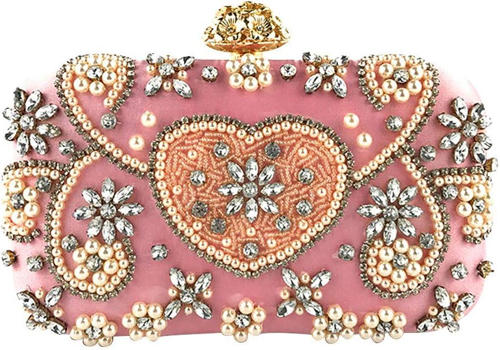 nightfall Womens Crystal Evening Clutch Bag Wedding Purse Bridal Prom Handbag Party Bag.