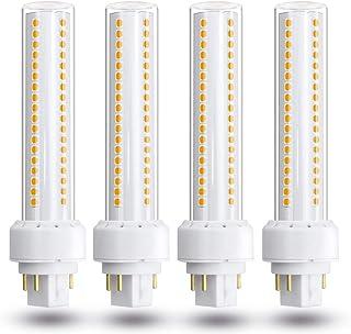 GX24 bombilla LED de 13W GX24q / G24q 4-Pin reemplazo luz empotrada 26W lámpara fluorescente compacta de luces Inicio,Warmwhite