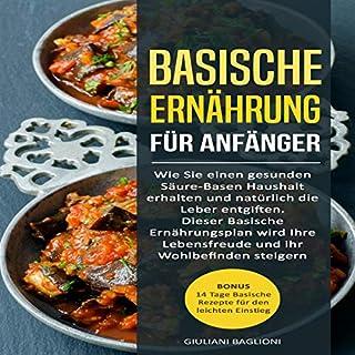 Basische Ernährung für Anfänger Titelbild